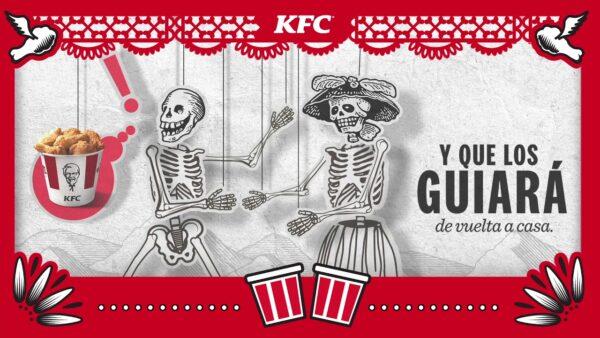 KFC y su campaña por el Día de los Muertos