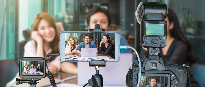 hacer transmisiones en vivo más profesionales